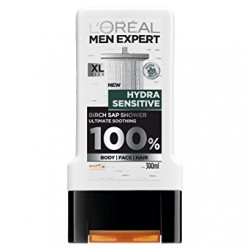 Sữa tắm gội Loreal Men Expert Hydra Sensitive 3in1