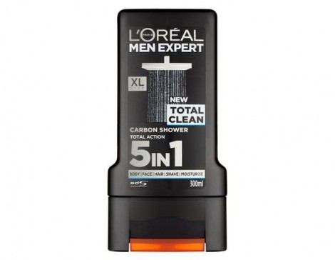 Sữa tắm gội Loreal Men Expert Total Clean 5in1